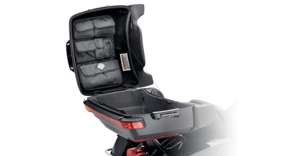 Tour-Pak Lid Fitted Lining with Organizer - Premium Black