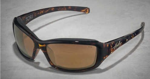 HD Tori Bronze Flash Lens/Tortoise Frame W Stones (Women's)