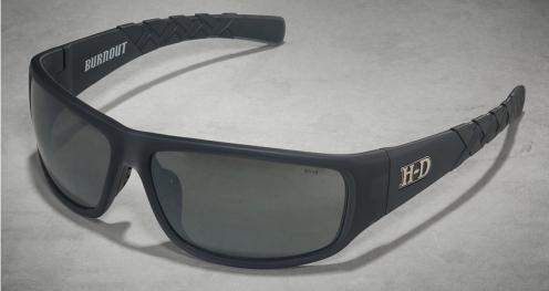 HD Burnout Grey Silver Flash Lens/Matte Crystal Grey Frame (Unisex)