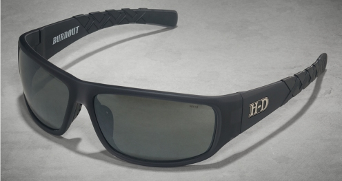HD Burnout Grey Silver Flash Lens/Matte Crystal Grey Frame (Unisex)