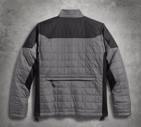 Men's Convertible Packable Mid-Layer Jacket
