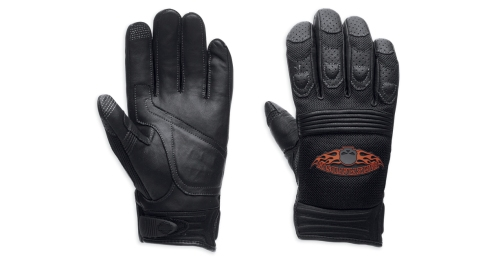 Men's Skull Touchscreen Tech Gloves