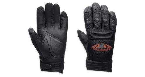Men's Skull Touchscreen Tech Gloves