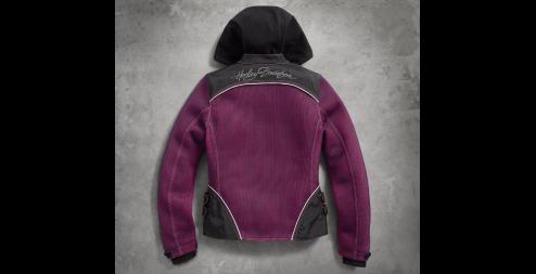 Women's Pink Label 3-in-1 Mesh Jacket(BackA)
