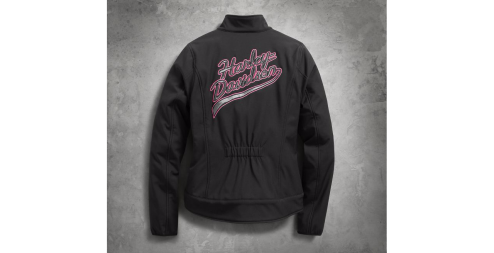Women's Pink Label Limited Edition Soft Shell Jacket(Back)