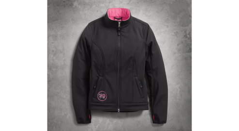 Women's Pink Label Limited Edition Soft Shell Jacket(Front)