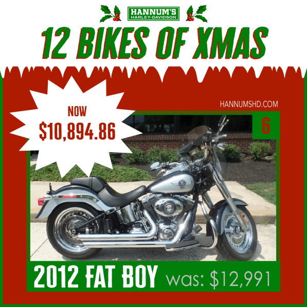 #6. 2012 Fat Boy in Sellersville, PA: http://bit.ly/2xmtq0W